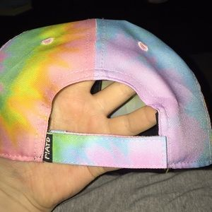 Manhead Accessories - Tie dye Panic! At The Disco hat 500fe3ab2a94